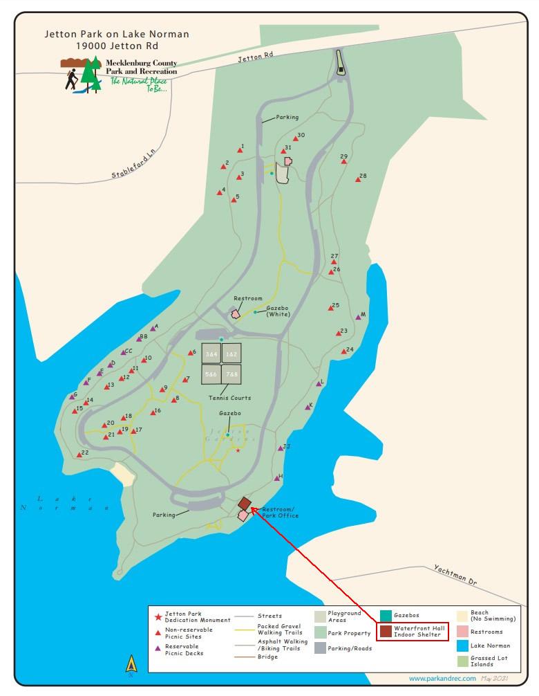 jetton park map loc